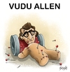 Cartoon: Vudu Allen (small) by bacsa tagged woody,allen