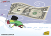 Cartoon: Etoo in Russia (small) by omomani tagged etoo,anzhi,makhachkala,cameroon,russia