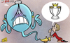 Cartoon: Gerrards genie (small) by omomani tagged genie,liverpool,premier,league,steven,gerrard