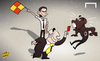 Cartoon: Inzaghi edges out Seedorf (small) by omomani tagged ac,milan,clarence,seedorf,filippo,inzaghi,galliani