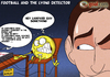 Cartoon: Lampard goals (small) by omomani tagged lampard,chelsea,tottenham,hutspar,england,premier,league