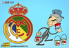 Cartoon: Paint it Portuguese (small) by omomani tagged mourinho,real,madrid,portugal,spain,la,liga,soccer,football,cartoon