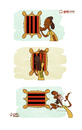 Cartoon: Ronaldinho back to Brazil (small) by omomani tagged ronaldinho,flamingo,brazil,ac,milan