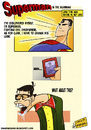 Cartoon: Superman in the Beginning (small) by omomani tagged superman,clrak,kent
