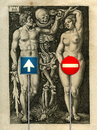 Cartoon: Adam and Eve! (small) by willemrasingart tagged great personalities
