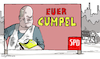 Cartoon: Cumpel Scholz (small) by Pfohlmann tagged 2020,deutschland,scholz,kanzler,kanzlerkandidat,spd,cum,ex,affäre,steuern,hamburg,kumpel,wahl,bundestagswahl,wahlplakat,wahlkampf,sozial,sozialdemokrat