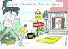 Cartoon: Strache Falle! (small) by Pfohlmann tagged 2019,strache,österreich,fpö,ibiza,villa,video,videoaffäre,spenden,korruption,handy,blind,falle,russen,russin,krone,kronenzeitung,verkauf,aufträge,rücktritt