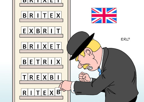 Cartoon: Ungeordneter Brexit (medium) by Erl tagged politik,gb,uk,großbritannien,austritt,eu,chaos,gefahr,ungeordneter,brexit,karikatur,erl,politik,gb,uk,großbritannien,austritt,eu,chaos,gefahr,ungeordneter,brexit,karikatur,erl