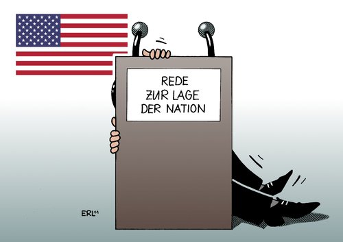 Cartoon: USA (medium) by Erl tagged usa,rede,lage,nation,barack,obama,präsident,supermacht,macht,weltmacht,schulden,wirtschaft,krise,china,teaparty,usa,rede,nation,barack obama,präsident,supermacht,macht,weltmacht,schulden,wirtschaft,teaparty,china,krise,barack,obama
