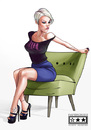 Cartoon: P!nK (small) by billfy tagged pink