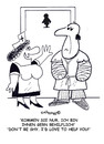 Cartoon: Hells helper (small) by EASTERBY tagged hospitalcare,nurses