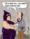 Cartoon: Henkers Arm (small) by EASTERBY tagged executions first aid
