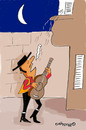 Cartoon: i loveeeeeee youuuuuu (small) by EASTERBY tagged spanish lover serenades