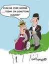 Cartoon: SUICIDE (small) by EASTERBY tagged old,age,suicide,dying