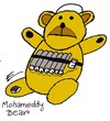 Cartoon: Teddy Explosive Bear (small) by EASTERBY tagged terror,terrorists,islam
