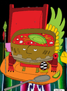 Cartoon: Aztec Soup (small) by Munguia tagged aztec,soup,munguia,costa,rica,sopa,azteca,mexican,mexicano,mexico,food,comida,tipico,aguacate,tomate,rico,sabor,sabroso,humor,grafico,caricatura,chiste