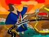 Cartoon: Bridge opening (small) by Munguia tagged bridge