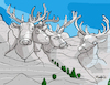 Cartoon: Deermore Mount (small) by Munguia tagged rushmore,mount,usa,presidents