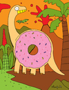 Cartoon: DonutSaur (small) by Munguia tagged donut,dona,saurio,dinosaur,reptile,rosquilla,munguia