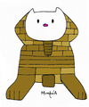 Cartoon: Hello Sphinx (small) by Munguia tagged hello,kitty,giza,sphinx,egypt,egyptian,cat,parody,cartoon