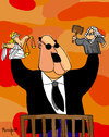Cartoon: Impunity puppets (small) by Munguia tagged politics lies justice law judge buy influences