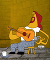 Cartoon: Instrumento de cuerda (small) by Munguia tagged guitar guitarra stringed instrument music musico musica