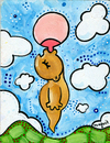 Cartoon: Milky way (small) by Munguia tagged baby,milk,via,lactea,milky,way,space,bebe,breast