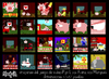 Cartoon: Pigs L Pixel video Game (small) by Munguia tagged pixel,video,game,pig,retro