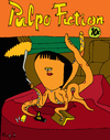 Cartoon: Pulpo Fiction (small) by Munguia tagged pulp,fuction,quentin,tarantino,movie,soundtrack,calcamunguias,costa,rica,munguia