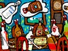Cartoon: Spirit drinks (small) by Munguia tagged calcamunguias,costa,rica,bebidas,espirituosas,espiritos,medium,licores