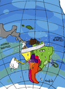 Cartoon: Suda America (small) by Munguia tagged sudamerica,sur,america,suramerica,del,suth