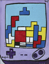 Cartoon: Tetris Mondrian (small) by Munguia tagged tetris,game,boy,video,parody,geometric,abstract,painting