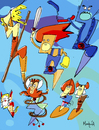 Cartoon: Thunder Cats (small) by Munguia tagged thunder cats comics thundercats munguia costa rica