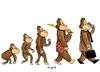 Cartoon: we still the same (small) by Munguia tagged monkey evolution munguia parodie parodies darwin charles ape mono simio evolucion
