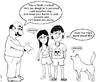 Cartoon: Birth control (small) by mdouble tagged parents,teen,sex,catholic,dog,dating,contreception