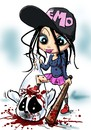 Cartoon: EMO (small) by Martin Hron tagged emo