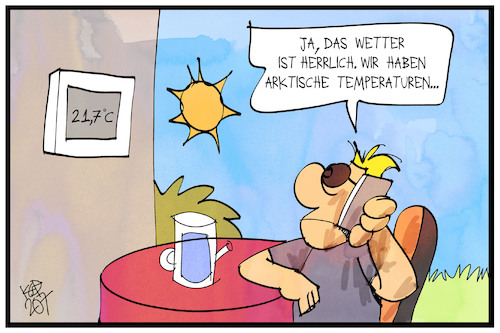 Arktische Temperaturen
