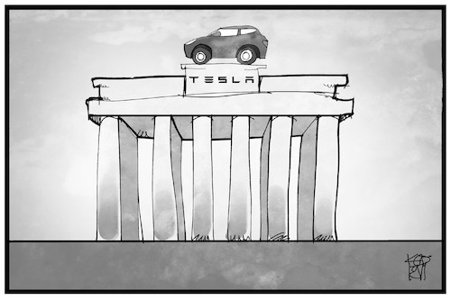Tesla in Berlin