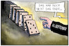 Cartoon: 11. September (small) by Kostas Koufogiorgos tagged karikatur,koufogiorgos,illustration,cartoon,911,terrorismus,erinnerung,usa,anschlag,twin,towers,domino,effekt