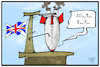 Cartoon: Brexit-Countdown (small) by Kostas Koufogiorgos tagged karikatur,koufogiorgos,illustration,cartoon,brexit,rakete,countdown,europa,austritt,eu,abstimmung,deal,uk,grossbritannien,raketenstart,fehlstart