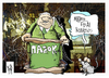 Cartoon: Pasok (small) by Kostas Koufogiorgos tagged pasok,venizelos,loverdos,ekloges,party,social,democrats,greece