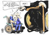 Cartoon: Schäuble vs. Schmidt (small) by Kostas Koufogiorgos tagged schmidt,altbundeskanzler,schäuble,griechenland,interview,karikatur,kostas,koufogiorgos