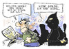 Cartoon: Terrorismus (small) by Kostas Koufogiorgos tagged terrorismus,boston,usa,karikatur,kostas,koufogiorgos