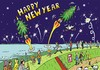 Cartoon: Happy New Year (small) by JotKa tagged neujahr,newyear,silvester,böller,raketen,feier,party,feiertage,holidays,feuerwerk,tannenbaum,weihnachten,fohes,neues,jahr,jahreswechsel,2015,2016happy,new,year