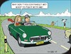 Cartoon: Trip (small) by JotKa tagged relationships,road,trip,misunderstanding,passenger,sea,coastal,problems,friendship,marriage,1962,mg,car,classic,sports,swinging,sixties,british