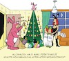 Cartoon: Weihnostern (small) by JotKa tagged kirchliche,feiertage,weihnachten,ostern,alternativ,feste,party,osterhase