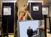 Cartoon: Presidential privacy (small) by azamponi tagged berlusconi,body,scanner,privacy