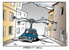 Cartoon: Street View (small) by Micha Strahl tagged micha,strahl,street,view,kamerafahrten,datensammlung