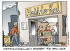 Cartoon: Wahl lo kal (small) by Micha Strahl tagged micha,strahl,bundestagswahl,2009,wahl,wahlomat,jungwähler,nichtwähler,wahllokal