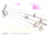 Cartoon: Music... (small) by CIGDEM DEMIR tagged music